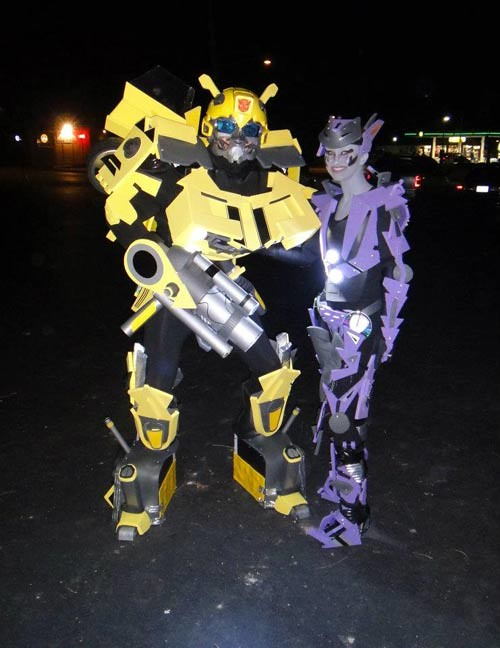 The worlds newest photos of costume and transformer flickr hive mind bumblebee amp arcee transformers costumes greatmats tags foammats foamflooring foamtiles halloween halloweencostumes solutioingenieria Choice Image