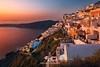 Sunset at Village of Imerovigli, Santorini, Greece (fesign) Tags: architecture building buildingexterior builtstructure city cloudsky coastline dusk greece house illuminated imerovigli outdoors pool residential romanticsky santorini scenics sea sky sunset town tradition tranquilscene tranquility traveldestinations vacation