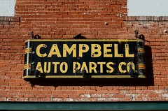 Campbell Auto Parts Co. (dangr.dave) Tags: architecture burkburnett downtown historic texas tx wichitacounty campbellautoparts neon neonsign autoparts