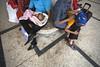 ".... (Rahat ""ArchQuad"" Amin) Tags: street documentary lifestyle family kids children baby father son railway station archquad dhaka bangladesh canon 6d"