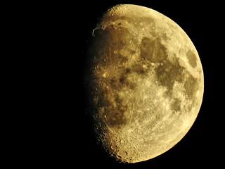 Mond, Moon über Großmoor