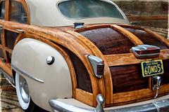 Zaftig Woodie (Goromo) Tags: woodie chryslertownandcountry sedan 1948 rain car classic classiccar wood genevaconcoursdelegance