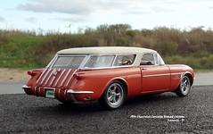1954 Chevrolet Corvette Nomad Custom (JCarnutz) Tags: 124scale diecast danburymint 1954 chevrolet corvette nomad