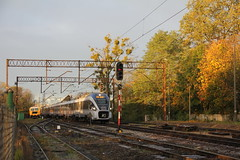 PKP IC ED161-018 , Długołęka train station 31.10.2017 (szogun000) Tags: długołęka poland polska railroad railway rail pkp station ezt emu set electric pesa ed161 ed161018 dart pkpic pkpintercity train pociąg поезд treno tren trem passenger ic intercity 61109 konopnicka d29143 dolnośląskie dolnyśląsk lowersilesia canon canoneos550d canonefs18135mmf3556is
