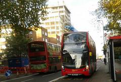 45, E40H MMC   Go-Ahead London Central EH127 SN66WPA (Unorm001) Tags: red london double deck decks decker deckers buses bus routes route 45 35 diesel hybrid electric dieselelectric hybridelectric battery batteryelectric greener green air for corridor brixton streatham eh127 eh 127 sn66 sn66wpa wpa