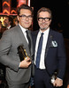 Honoree Joe Wright, recipient of the Hollywood Director Award for 'Darkest Hour,' (L) and Honoree Gary Oldman, recipient of the Hollywood Career Achievement Award, attend the 21st Annual Hollywood Film Awards at The Beverly Hilton Hotel on November 5, 2017 in Beverly Hills, California. (Photo by Christopher Polk/Getty Images for HFA)