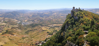 Montale is the last of  the three Towers of San Marino