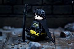 Cassandra Cain (Jezbags) Tags: lego legos toys toy macro macrophotography macrodreams macrolego canon60d canon 60d 100mm closeup upclose batman batmanthemovie cassandra cain sword
