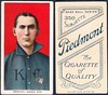 1909-11 / T206 White Border - JAKE BECKLEY (First Base / Manager) - Kansas City Blues / American Association (Raw) (Baseball Hall of Fame 1971) (1910 / Piedmont 350 / 25 Back) Tobacco / Cigarette Baseball Card (#29) (Treasures from the Past) Tags: t206 tobaccocard tobacco 1909 1911 cigarette cigarettecard americantobaccocompany whiteborder whiteborderset baseballcard lithograph whiteborderbaseballset t206baseballset hof halloffame baseballhalloffame jakebeckley kansascityblues americanassociation manager firstbase