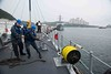 USS Chief begins MN MIWEX (CTF 76) Tags: busan korea mcm14 mnmiwex usschief minesweeper southkorea