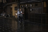 Zen biking (karinavera) Tags: city night photography urban ilcea7m2 gion street bicicle people bike japan kyoto