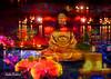 Wishing Peace (brillianthues) Tags: candles night buddah colorful collage photography photmanuplation photoshop