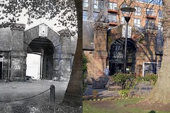 Dial Square - Woolwich - Then and Now (radio53) Tags: thenandnow woolwich arsenal dialsquare royal london se18 building57 dialarchpub