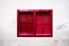 Gobes Window (ajecaldwell11) Tags: building window ankh singapore gobes red caldwell architecture light