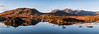 Scotland Panorama (Steven Dijkshoorn) Tags: scotland schotland roadtrip hdr hdr32 reflection water lake sun mountains panorama