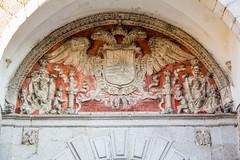 Puerta del Cambron interior escudo de Felipe II Toledo 06 (Rafael Gomez - http://micamara.es) Tags: puerta del cambron interior escudo de felipe ii toledo