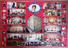 Queen Mary's Dolls' House (pefkosmad) Tags: jigsaw puzzle pastime leisure hobby 1500pieces incomplete missingpiece collage montage queenmarysdollshouse used secondhand photograph photo
