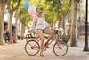 _M3_9724# (FrankCroft) Tags: primavera spring globos ballons bici bicicleta bicycle calle street flores frowers albacete flowerhead tocadodeflores diadema diadem frankcroft webmoda