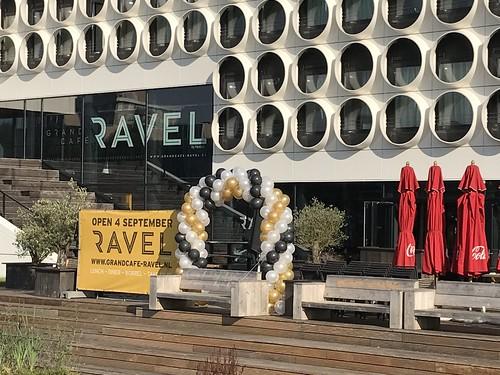 Ballonboog 6m Gran Cafe Ravel Amsterdam