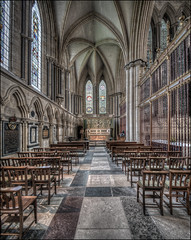 York Minster Chapel (Darwinsgift) Tags: york minster chapel hdr photomerge tiltshift shift lens 19mm f4 pc e nikkor nikon d850 church cathedral