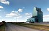 Brant Alberta. (Bernard Spragg) Tags: brant alberta grain elevators canada lumixfz1000 publicdomain