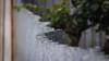 Undulating Sine Wave (Theen ...) Tags: bumpy corrugated dof driveway fence garden horizontal iron lumix lumpy meandering metal plain rosebush shallow sinewave suburban theen top