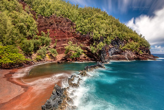The Spectacular Red Sand Beach of Maui