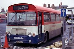 B51759D HB 3830 TTC789T Southampton 17 Jan 87 (Dave58282) Tags: bus bristol 432 ttc789t hampshirebus 3830