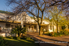 Guesthouse of the Knorhoek Wine Estate, Stellenbosch, South Africa (Ulrich Münstermann) Tags: 170800southafrica africa afrika ferien knorhoekwineestate natur reise southafrica stellenbosch weskaap westerncape afternoon daytime holiday intshonakoloni nature natuur reizen travel vakantie