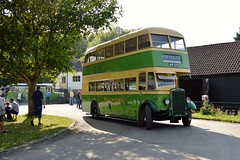 970H AUF670 (PD3.) Tags: 970h 970 auf670 auf 670 leyland titan pd1 amberley west sussex chalk pits museum bus buses preserved vintage coach heritage centre show historic history southdown motor services td3 east lancs