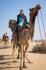 Rajasthan - Jaisalmer - Desert Safari with Camels-16