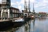 Bristol Harbour (Articdriver) Tags: e1 bristol harbour docks water cranes steam locomotive railway trains stroudley 110 boat