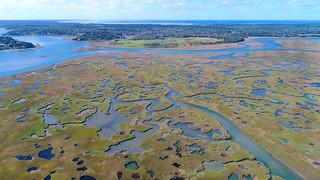 Nauset Marsh Aerial
