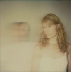 J'existe toujours  (I still exist) (l'imagerie poétique) Tags: limageriepoétique polaroidsx70 roidweek2017 impossibleprojectfilm motionblurfilter ghost fantôme