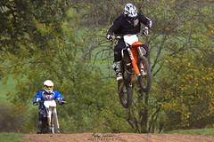 Up High (Andy Tee) Tags: motocross motorbike yamaha suzuki dirt bike off road bangor on dee track sport