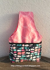 PATCH7005-Knitting-Bag (Silvia LGD (Little Green Doll)) Tags: crafts patchwork fabrics telas agf agffabrics handmade hechoamano knitting knittingprojectbag knittingbag ganxetades