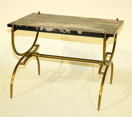Mid-Century Marble-top Table ($280.00)