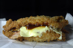 The KFC Double Down Bacon Burger (Tony Worrall) Tags: add tag ©2017tonyworrall images photos photograff things uk england food foodie grub eat eaten taste tasty cook cooked iatethis foodporn foodpictures picturesoffood dish dishes menu plate plated made ingrediants nice flavour foodophile x yummy make tasted meal nutritional freshtaste foodstuff cuisine nourishment nutriments provisions ration refreshment store sustenance fare foodstuffs meals snacks bites chow cookery diet eatable fodder kfc chicken batter double down bacon burger doubledown cheese