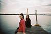 Samela & Paola, Florianopolis, 2017 (H4g2) Tags: leica m7 leicam7 brésil brasil brazil ponton floripa florianopolis santacatarina sc brasileira brésilienne water pontoon girls garota lagoadaconceição lagoa lagune fille