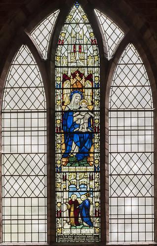 Woodhall Spa, St Peter's church window