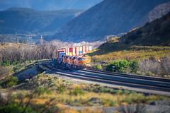 BNSF 7398 near Route 66 - California - USA (R.Smrekar-CH) Tags: railroad railway california 000500 d750 smrekar usa