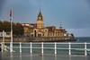 Iglesia de San Pedro vista desde la Playa de San Lorenzo de Gijón, Principado de Asturias. España. (RAYPORRES) Tags: playadesanlorenzo gijon iglesiadesanpedro asturias españa principadodeasturias