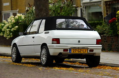 1994 Peugeot 205 1.1 CJ Cabriolet (Dirk A.) Tags: sidecode6 27gzlj 1994 peugeot 205 11 cj cabriolet