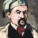 CEZANNE,1866-67 - L'Oncle Dominique en Bonnet de Coton (New York) - Detail 10