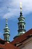 Cúpulas bulbosas en Praga