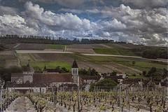 2016-06-15-Chitry le fort (dangui89) Tags: vignes cerisiers chateau églisefortifiée village architecture ciel nuage autochrome france bourgogne yonne89 chitry guillierdanielphotofr