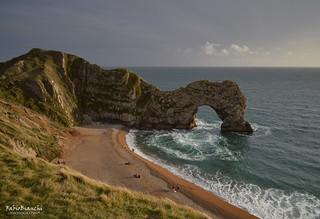 Tardo pomeriggio a Durdle Door - Jurassic Coast, Dorset