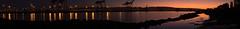 Sunrise Over the Estuary Panorama