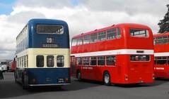 Classic Double Deck Bristols @ Showbus 2017 (Andy Reeve-Smith) Tags: 313 lodekka flf 780 yrc125m series2 ynu351g midlandgeneral bristol ecw ecwbody showbus 2017 showbus2017 donington doningtonpark castledonington derbyshire derby derbys leicestershire leics vr bristolvr mansfielddistrict nbc national nationalbuscompany