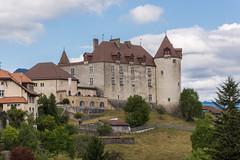 Le Château de Gruyères (bertrandwaridel) Tags: 2017 fribourg gruyères lagruyère september switzerland castle château summer suisse